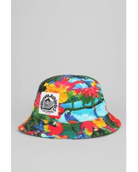 52e2056a70b03d Urban Outfitters. Milkcrate Athletics - Tropical Bucket Hat - Lyst