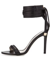 Jason Wu Leather Anklestrap Sandal - Lyst