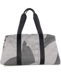Alexander McQueen Abstract-Print Nylon Holdall - Lyst
