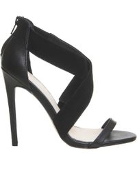 Office | Allure Cross Strap Heels | Lyst