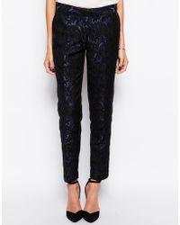 Tfnc Lace Slim Pants - Lyst