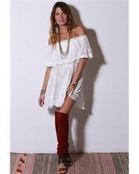Jen's Pirate Booty   Senorita Mini Dress In White As Seen On Vanessa Hudgens   Lyst