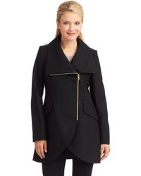 French connection Asymmetrical Tulip Jacket - Lyst