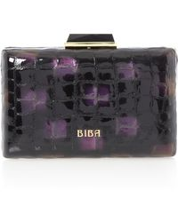 Biba Fashion Box Clutch - Lyst