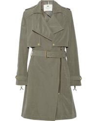 Day Birger Et Mikkelsen Day Go Brushedtwill Trench Coat - Lyst