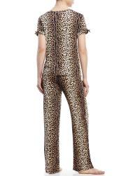 Betsey Johnson | Jersey Knit Pajama Set | Lyst