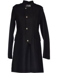 Yves Saint Laurent Rive Gauche Coat - Lyst