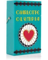 Charlotte Olympia Smokin' Clutch - Lyst