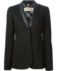Burberry Brit Two Button Blazer - Lyst