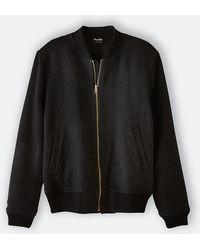 Steven Alan Reversible Bomber Jacket gray - Lyst