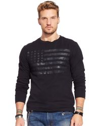 Denim & Supply Ralph Lauren Flag-Print T-Shirt - Lyst