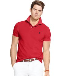 Polo Ralph Lauren | Classic-fit Mesh Polo Shirt | Lyst