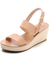 Ancient Greek Sandals Clio Clog Sandals - Natural - Lyst
