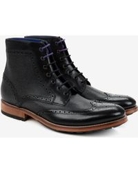Ted Baker Brogue Ankle Boots - Lyst