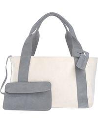 Pedro Garcia Handbag gray - Lyst