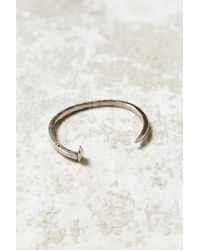Giles & Brother Skinny Railroad Spike Cuff Bracelet - Lyst