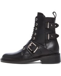 Barbara Bui Moto Leather Boots - Lyst