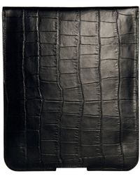Temperley London - Crocodile Print Leather Ipad Case - Lyst