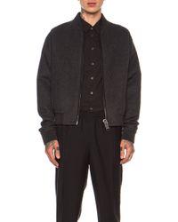 Calvin Klein Mens Falkenberg Double Cashmere Zip Sweater - Lyst