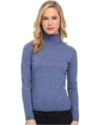Pendleton Petite Classic Turtleneck Sweater - Lyst