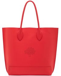 Mulberry Blossom Nappa Leather Tote Bag - Lyst