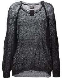 Diesel Loose Knit Sweater - Lyst