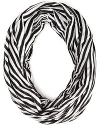 Forever 21 - Striped Infinity Scarf - Lyst