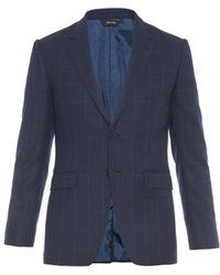 Paul Smith Byard Checked Wool Blazer - Lyst