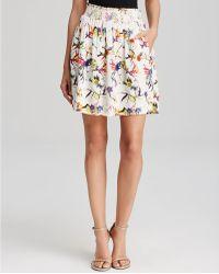 Essentiel - Hurry Up Print Skirt - Lyst