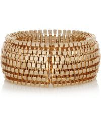 Kenneth Jay Lane Goldplated Bracelet - Lyst