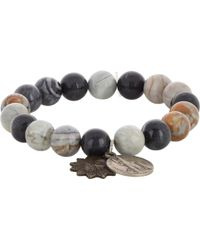 Miracle Icons - Picasso Jasper Charm Bracelet - Lyst
