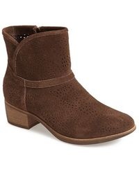 Ugg 'Darling Seaweed' Perforated Suede Boot - Lyst