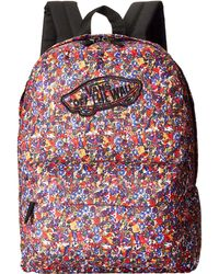 Vans Purple Realm Backpack - Lyst