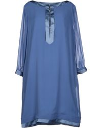 Aquascutum Short Dress - Lyst