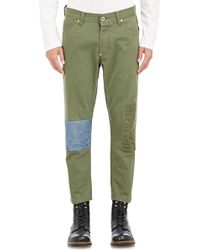 FDMTL - Men's Patched Jeans - Lyst