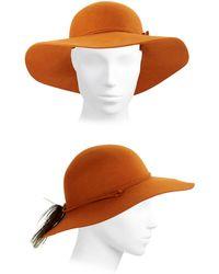 Kathy Jeanne - Wool Floppy Hat - Lyst