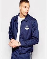 ADPT - Cotton Twill Coach Jacket Co-ord - Lyst