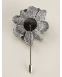 Lanvin - Flower Corsage Pin - Lyst