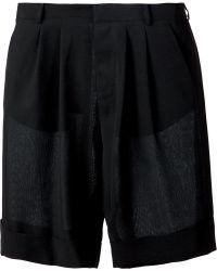 Cerruti 1881 - Pleated Lightweight Shorts - Lyst