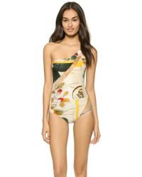 Jean Paul Gaultier One Shoulder Swimsuit  - Lyst