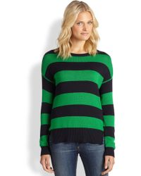 MICHAEL Michael Kors Striped Hilo Sweater - Lyst