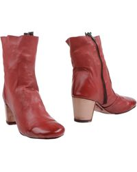 Silvano Sassetti Ankle Boots - Lyst