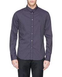 McQ by Alexander McQueen Harness Check Shirt - Lyst