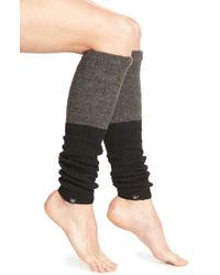 CALVIN KLEIN 205W39NYC - Colorblock Knit Leg Warmers - Lyst