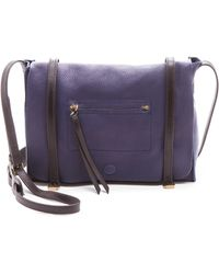 Linea Pelle Hunter Messenger Bag - Ink - Lyst