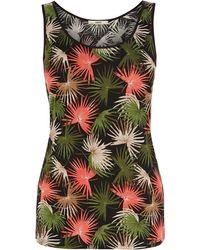 Oasis Palm Print Vest - Lyst