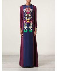 Mary Katrantzou Sentinel Gown - Lyst