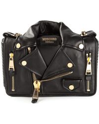 Moschino Biker Shoulder Bag - Lyst