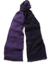 Berluti Cashmere And Silk-Blend Scarf - Lyst