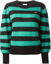 Bella Freud Striped Sweater - Lyst